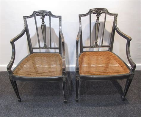 a pair of sheraton style side chairs interior boutiques
