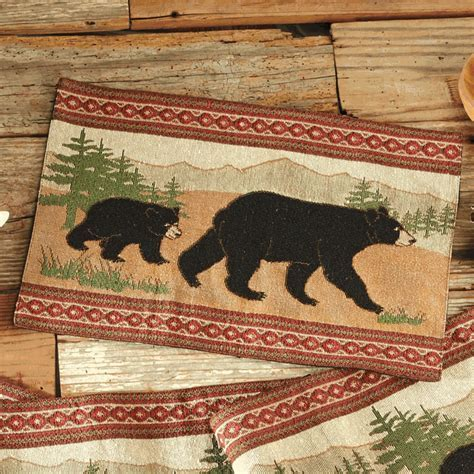 Black Bear Placemat