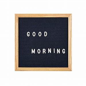 felt letter board in 5 assorted colours With black letters for letter board