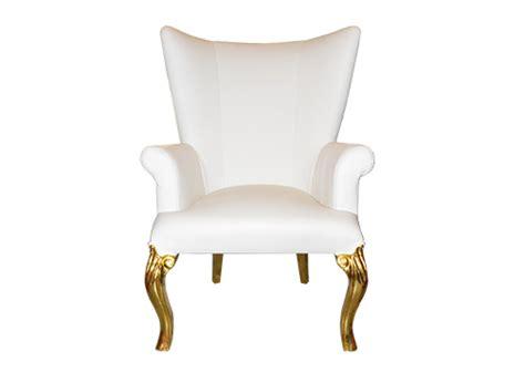 Dior White Armchair