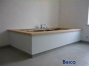Habillage Baignoire Bois : habillage baignoire avec plinthe en retrait ~ Premium-room.com Idées de Décoration