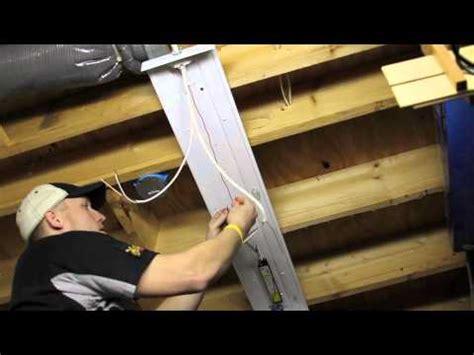 Installing Overhead Light Fixtures Youtube