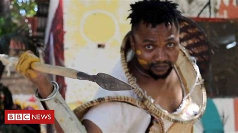 Making 'pure African' film costumes   Lionheart, Foreign ...