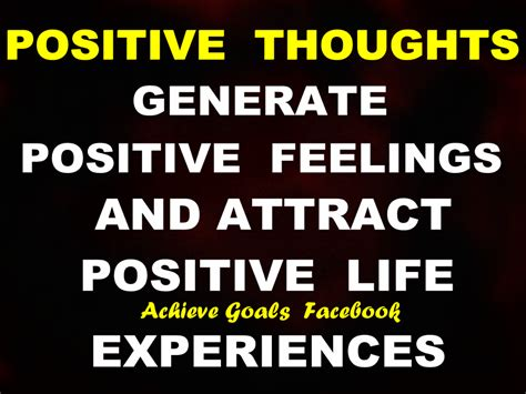 Love Life Dreams: Positive thoughts generate positive ...