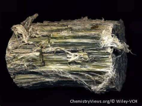 chrysotile chemviews magazine chemistryviews