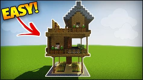 minecraft survival house step  step imugr album modern house modern house