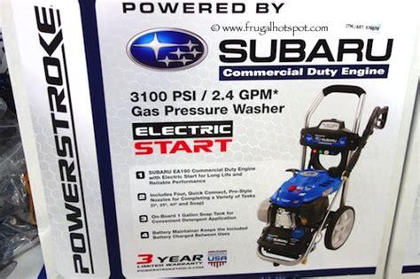 Subaru Power Washer 3100 Psi