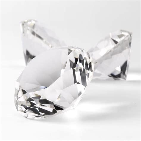 glaskristall diamant glas deko transparentes