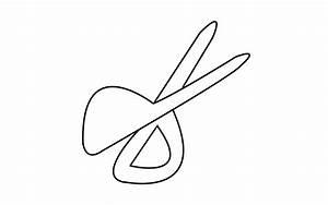 How To Draw A Scissor