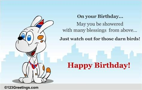 fun birthday blessings  birthday blessings ecards