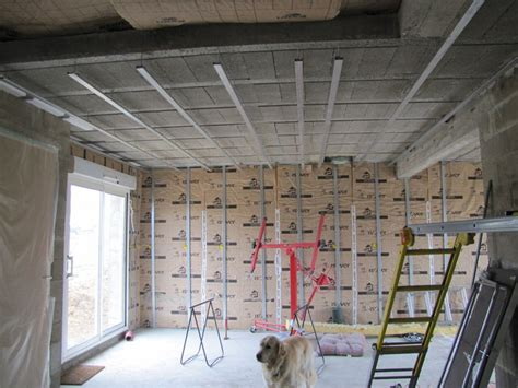 suspente rail placo plafond travaux 28 images comment isoler un plafond suspente rail placo