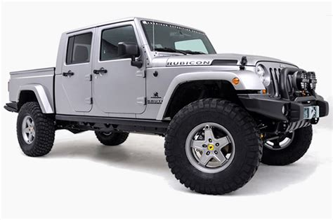 jeep wrangler pickup truck  officially coming