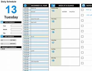 daily work schedule template task list templates With daily work tracker template