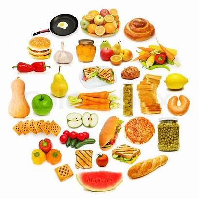 Lots Circle Items Cirkel Foods Voedsel Veel