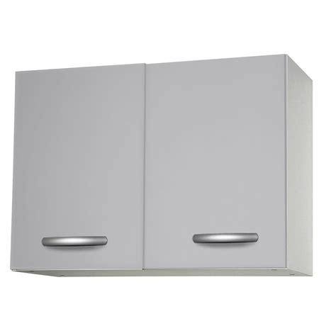 element cuisine leroy merlin meuble de cuisine haut 2 portes gris aluminium h57 9x