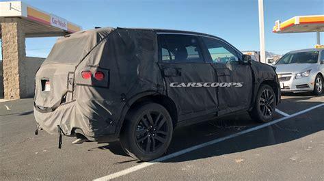 U Spy The 2019 Honda Pilot Facelift In California Carscoops