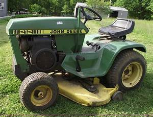 John Deere 212 Lawn And Garden Tractor Service Manual