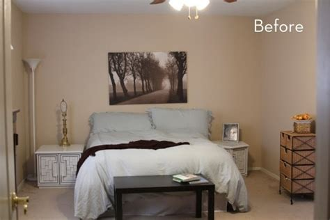 Living Room Makeovers On A Budget by Before And After Kelsey S Bold And Colorful Bedroom