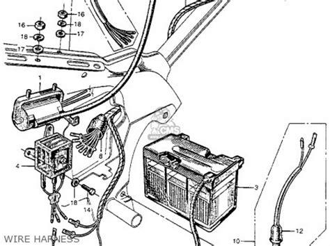 honda ct200 trail 90 1964 usa parts list partsmanual partsfiche