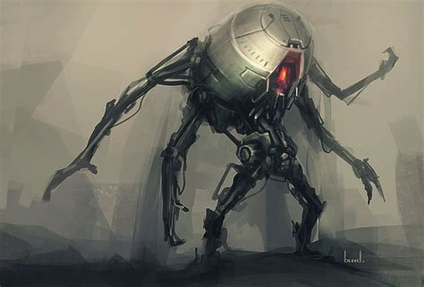 Four Armed Robot By Blee-d.deviantart.com On @deviantart
