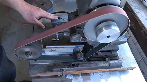 small belt grinder overview youtube