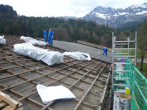 zimmerei dachdeckerei und schreinerei asbestentsorgung