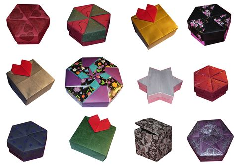 origami gift boxes origami constructions