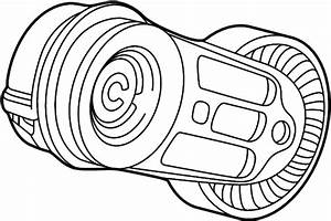 Saturn Ls1 Tensioner  Belt  Drive  Accessory