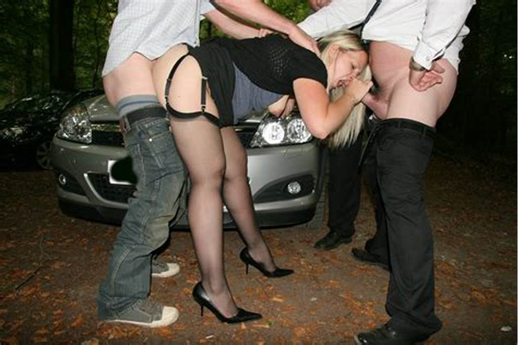 #British #Wife #Fucking #After #Dark #In #Dogging #Sex #Action