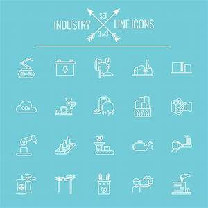 Industry outlines icons vector 03 - Life Icons free download
