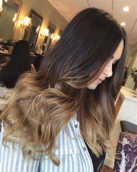 blond braun ombre best ombre hairstyles black and brown hair ambie