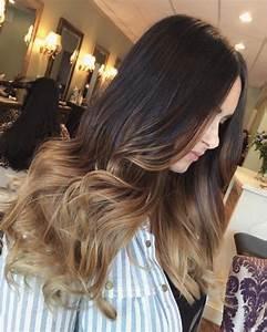 Ombré Hair Marron Caramel : best ombre hairstyles blonde red black and brown hair ~ Farleysfitness.com Idées de Décoration