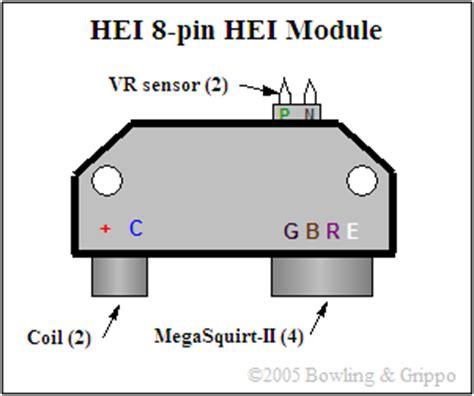 Gm Hei Module Wiring by Gm Small Cap Hei Tach Question