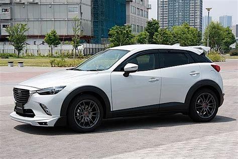 Mazda Cx3 Modification by Mazda Cx 3 Tuned By Autoexe Looks Like A Track Ready Suv