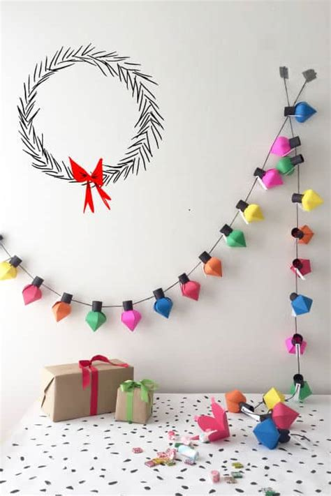 easy christmas crafts for schools 18 diy home decor wall ideas