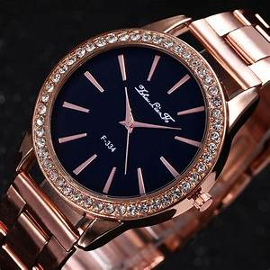 Rose Gold Sprühlack : fashion rose gold tone ladies watches women softech quartz wrist watch hot ebay ~ Avissmed.com Haus und Dekorationen