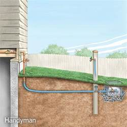 kitchen faucet leaking from handle how to install an outdoor faucet the family handyman