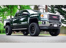 This GMC Sierra is a mean, green monster ChevyTV