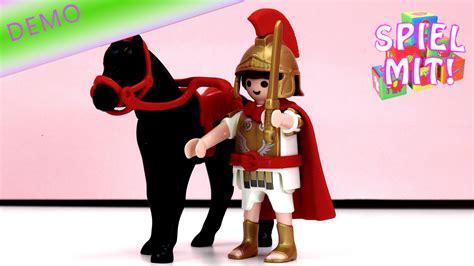 Römischer Tribun Mit Pferd