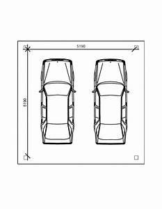 Dimension Garage 1 Voiture : abri voiture 5 5 x 5 5 p 50 pour 2 voitures ~ Dailycaller-alerts.com Idées de Décoration