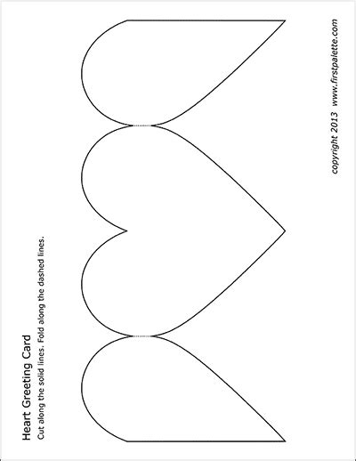 greeting card template page hearts free printable templates coloring pages