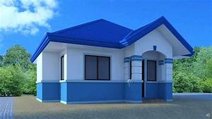 Blue Roof House Architectural Designs