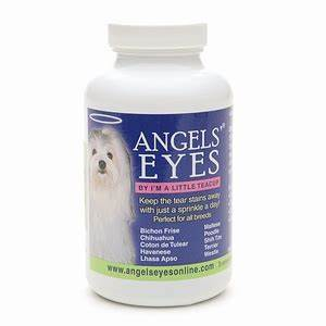 angels39 eyes tear stain supplement for dogs sweet potato With angel eyes for dogs