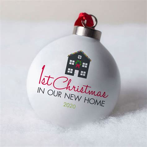 First Christmas In Our New Home Ornament Svg  – 520+ SVG File for Cricut