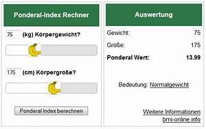 Bmi Berechnen Kostenlos : ponderal index f r die eigene webseite widget banane ~ Themetempest.com Abrechnung