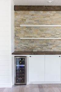 thousands of images about indoor stone wall on pinterest With kitchen cabinets lowes with stone wall art for outdoors