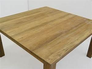 Tisch 8 Personen : tisch esstisch esszimmertisch teakholz massiv 4 8 personen 80x150x150 cm 4488 m bel tische ~ Markanthonyermac.com Haus und Dekorationen