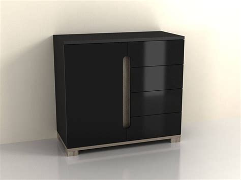 Small Narrow Drawer Unit by 20 Ideas Of Sideboard Black Gloss