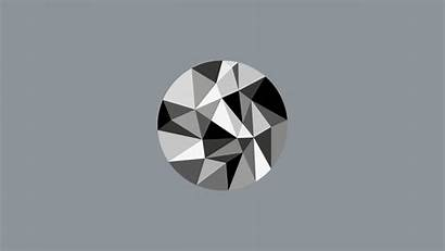 Geometric Triangle Wallpapers Desktop Gray Desktops Wallpapersafari