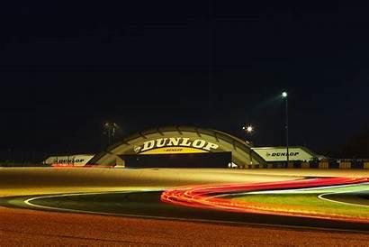Mans 24h Race Nuit Fond Heures Circuit